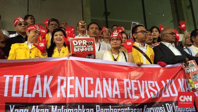 Guru Besar Minta DPR Tarik RUU KPK Dari Prolegnas