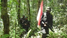 TNI Baku Tembak dengan KKB Papua di Intan Jaya