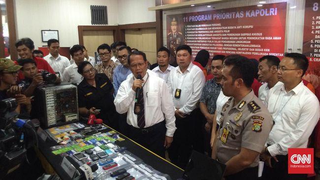 Polisi Tangkap Kelompok Penipu Jual Beli Online