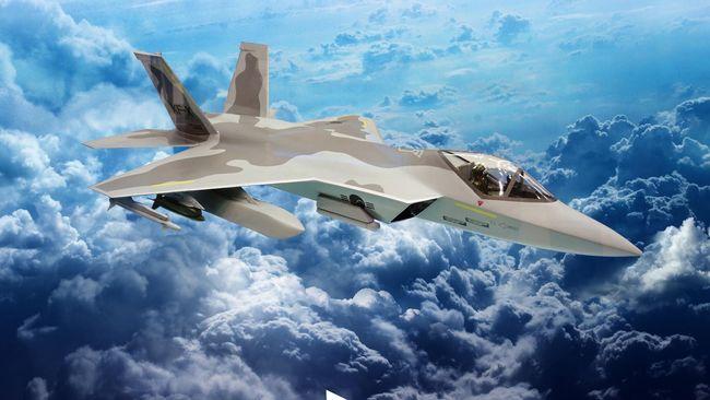 Korea Selatan meluncurkan purwarupa jet tempur KF-X yang sedang dikembangkan bersama Indonesia pada hari ini, Jumat (9/4).