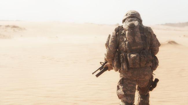 Desert storm, Tentara Gurun