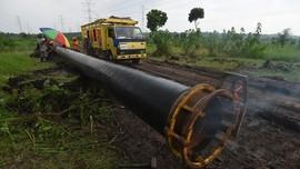 Pertagas Salurkan Gas Perdana ke Kuala Tanjung
