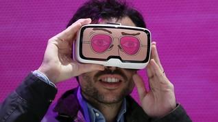 China Buka Taman Bermain Berteknologi Virtual Reality