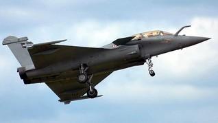 India Beli 5 Jet Tempur Prancis usai Bentrok dengan China
