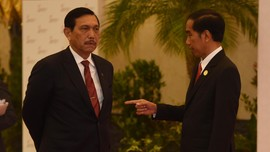 Jokowi: Luhut dan Prabowo Kawan Dekat