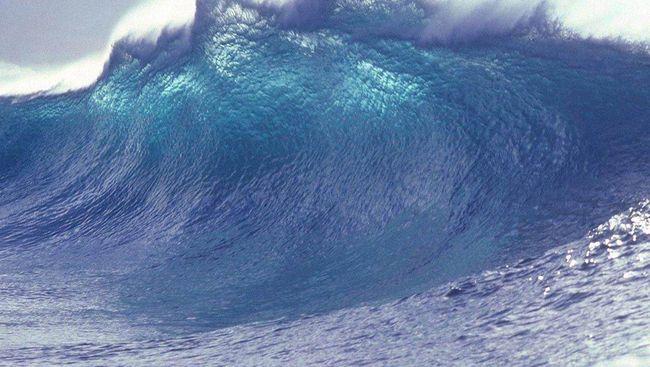 Ilustrasi Bencana Alam Tsunami
