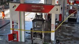 Pertamina Selidiki Penyebab Kebakaran di SPBU MT Haryono