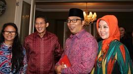 Narasi Duet Sandiaga-Ridwan Kamil di Pilpres 2024