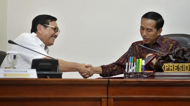 Menko Luhut membantah mendominasi kabinet Jokowi. Dia merespons soal 'cemoohan' Luhut Lagi, Luhut Lagi. Berikut penjelasannya.