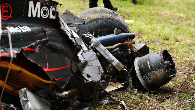 Ada satu orang yang diingat Fernando Alonso ketika ia mengalami kecelakaan parah di GP Australia, yaitu sang ibunda.