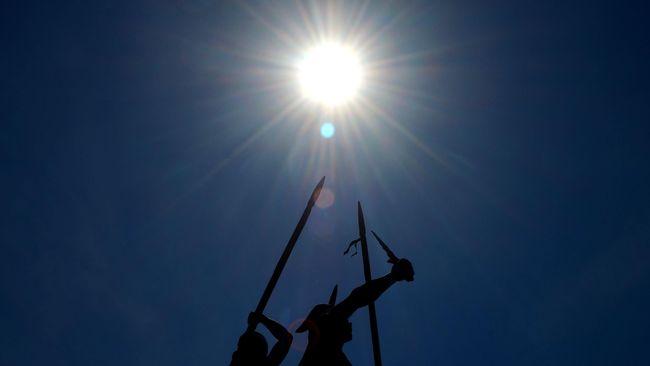 Jadwal hari tanpa bayangan yang akan terjadi di sejumlah wilayah di Bali.