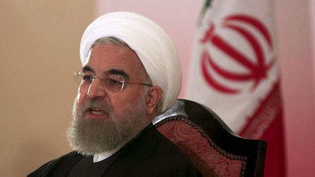 Presiden Iran Tantang Trump Berdialog 'Sekarang Juga'