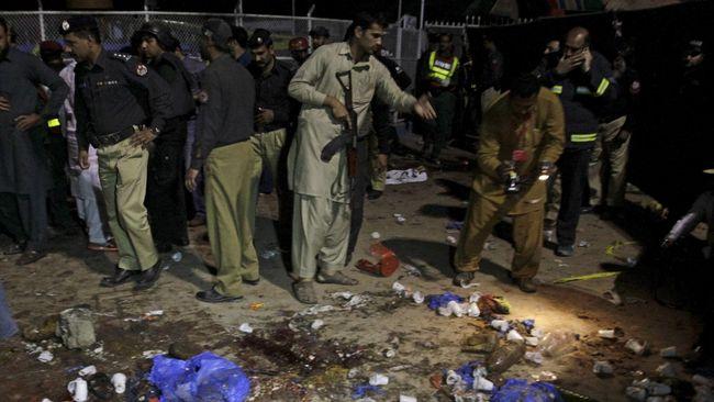 Bom dalam Kotak Sayuran di Pasar Pakistan, 31 Orang Tewas
