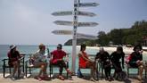 Di tahun ini, pemerintah Thailand menargetkan kunjungan wisata 32 juta turis ke berbagai kawasan wisata pantai indahnya.