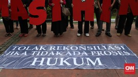 Jokowi Susun Perpres HAM, KontraS Duga Jadi Ajang Cuci Tangan