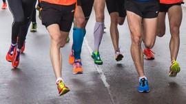 Lockdown, Pria Inggris Lari 230 Kilometer di Halaman Rumah