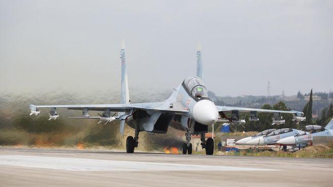 Siaga Serbuan Ukraina, Rusia Kirim Jet Tempur ke Krimea