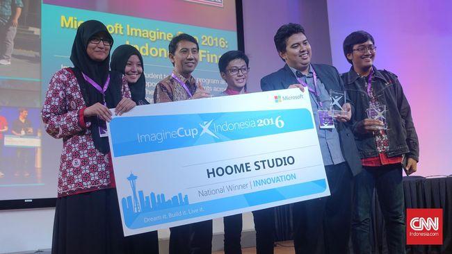 Microsoft telah menentukan tiga pemenang kompetisi Imagine Cup 2016. Para pemenang akan dibawa untuk kembali berkompetisi semi final di tingkat dunia.