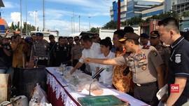 Ratusan Ton Pupuk Ilegal Diamankan di Tanjung Priok