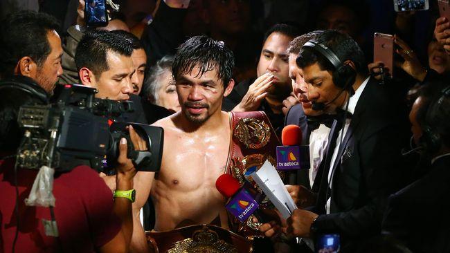 Manny Pacquiao kembali dari masa pensiun dan bakal berduel lawan Jessie Vargas pada 5 November mendatang.