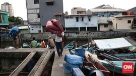 Lalu Lintas di Sekitar Pasar Ikan Dialihkan saat Penggusuran