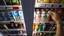 Penjualan Makanan dan Minuman Kemasan Anjlok 40 Persen