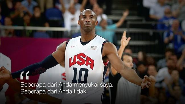 Menuangkan Hasrat Kobe Bryant Dalam Kata Kata
