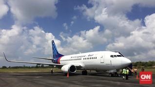 Sriwijaya Air Tambah Penerbangan Domestik Mulai 1 Juli