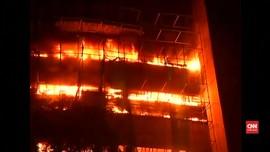 Museum Sejarah Alam India Terbakar
