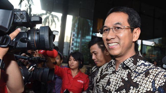 Heru Budi Hartono, bakal calon wakil gubernur DKI Jakarta, masuk seleksi sebagai Kepala Sekretariat Presiden.