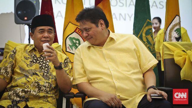 Golkar sangat mengapresiasi ditunjuknya Airlangga oleh Presiden Jokowi. Golkar menyebut banyak kadernya yang layak untuk duduk jadi menteri.