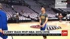 Stephen Curry Pertahankan Gelar Pemain Terbaik NBA