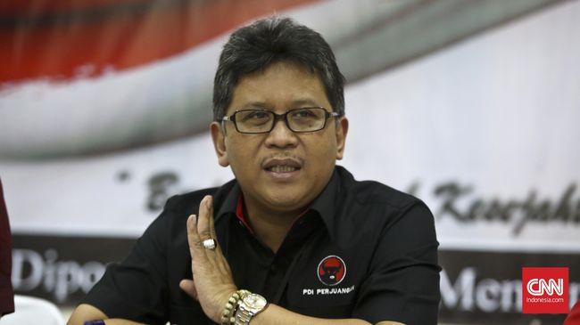 Sekjen PDIP Hasto Kristiyanto mengapresiasi sikap cabut banding Ahok dan menyebut tindakan tersebut bukan usulan partainya.