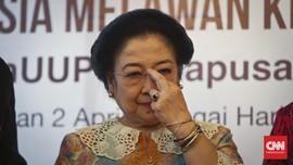 Megawati Hadiri Pelantikan Tito Karnavian