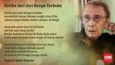 Penyair Sapardi Djoko Damono meninggal dunia di usia 80 tahun pada Minggu (19/7) pagi. Berikut delapan kidung Sapardi Djoko Damono.