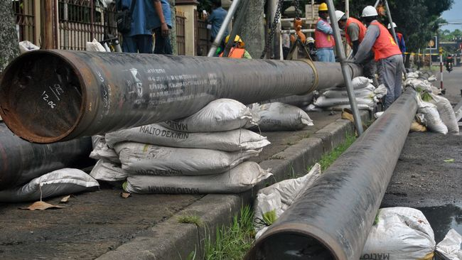 Pembangunan pipa di wilayah Sumatra Tengah diklaim menyambung ruas pipa transmisi Arun-Belawan di Sumatra Utara dan ruas pipa Lampung-Dumai.