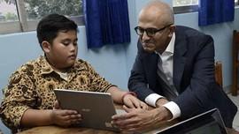 Kunjungan Perdana CEO Microsoft ke Indonesia