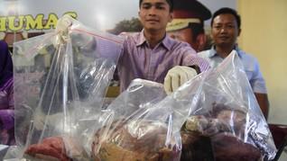 Polisi: Masih Ada Pelaku Lain Penjual Daging Babi Mirip Sapi