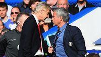 Dulu Sering Menyindir, Kini Mourinho Sebut Wenger Yang Terbaik