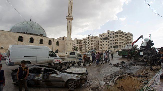 Korban Ledakan di Suriah Bertambah Jadi 34 Orang
