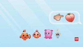Tiga Menit 'Finding Nemo' Versi Emoji