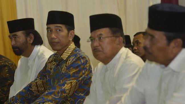 Sejumlah tokoh nasional hadir pada acara buka puasa bersama yang digelar Partai NasDem, dari mulai kepala negara hingga politikus.