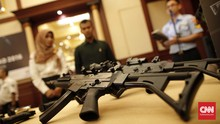 Anggota Brimob Diduga Selundupkan M16 Ditangkap di Nabire