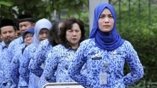 PNS Kemendikbud di Atas 45 Tahun Tak Wajib Masuk Kantor