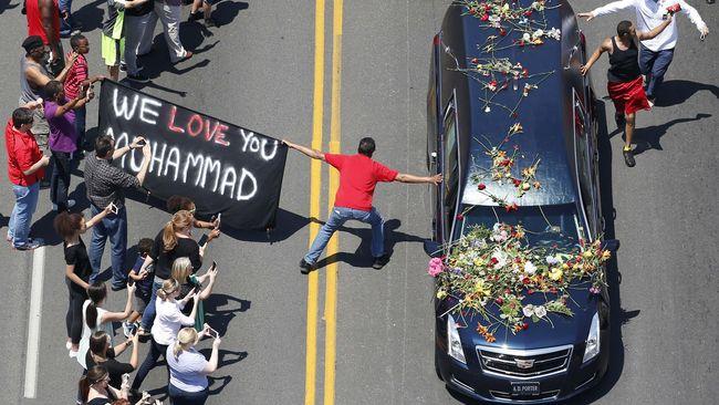 Mengantar Muhammad Ali ke 'Rumah' Terakhir