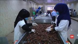 Pabrik Kurma di Irak Naikkan Produksi Saat Ramadan