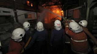 Kebakaran di BEC Dipadamkan, Sumber Api Korsleting Genset