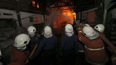 Paling Baru, Kebakaran di BEC Dipadamkan, Sumber Api Korsleting Genset