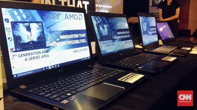 Acer jadi produsen komputer pertama di Indonesia yang membawa prosesor AMD terbaru generasi ketujuh, lewat perangkat laptop game untuk pasar menengah ke atas.