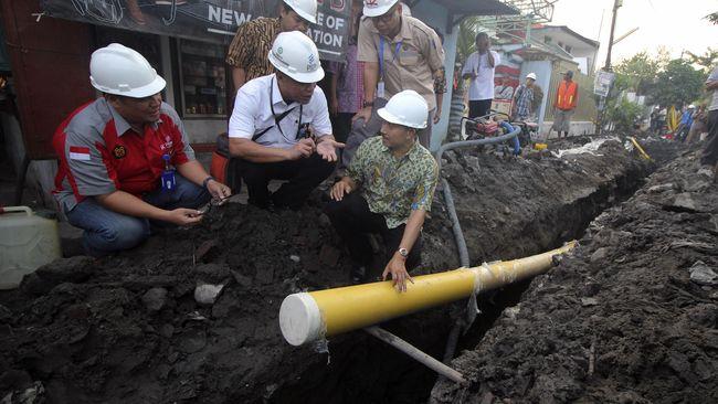 PGN Selesai Bangun 10 Ribu Jaringan Gas Ibu Kota Baru di 2020